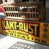 KANT- RUST LUBRICATION TIN SIGN