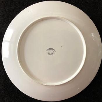 """C.T. Raynolds New York - 14"""" Ceramic Plate/Platter - China and Dinnerware"""