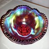 "imperial glass 8"" round berry bowl 1909? please help identify"