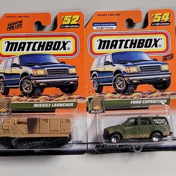 Matchbox Monday - Model Cars
