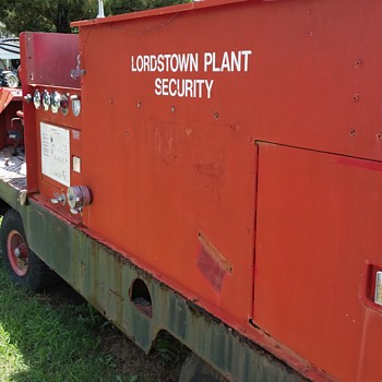 In plant Fire Truck