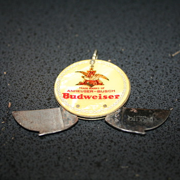 Anheuser-Busch Keychain Knife and File - Breweriana