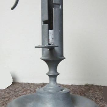 Pewter Candlestick W / Hallmark - Lamps