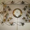 United Ivy Leaf Clock