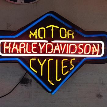 Harley Harley Harley - Signs