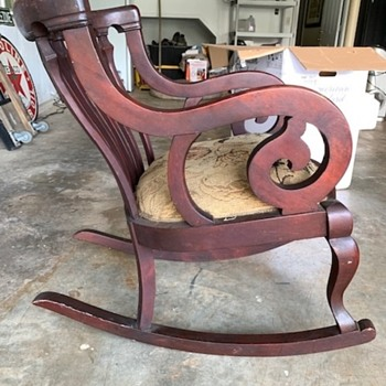 Magnificent Antique And Vintage Rocking Chairs Collectors Weekly Forskolin Free Trial Chair Design Images Forskolin Free Trialorg