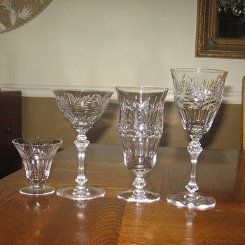My crystal - Fostoria? - Glassware