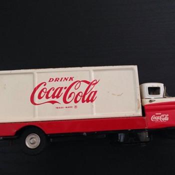 1960's Sanyo Coca Cola delivery truck - Coca-Cola