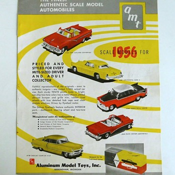 AMT advertising...  Cool then and cool now - Model Cars