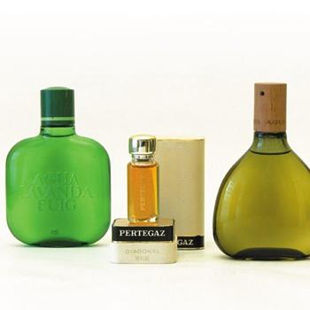 3 perfume bottles, André Ricard (1960s/1970s) - Bottles