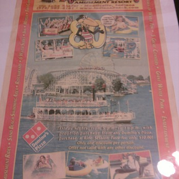 8oth aniversary Indiana Beach News paper poster - Paper