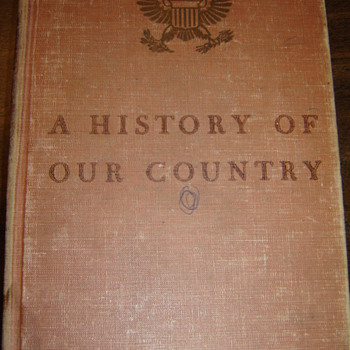 Old History book - Books
