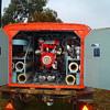 vintage firefighting trailer