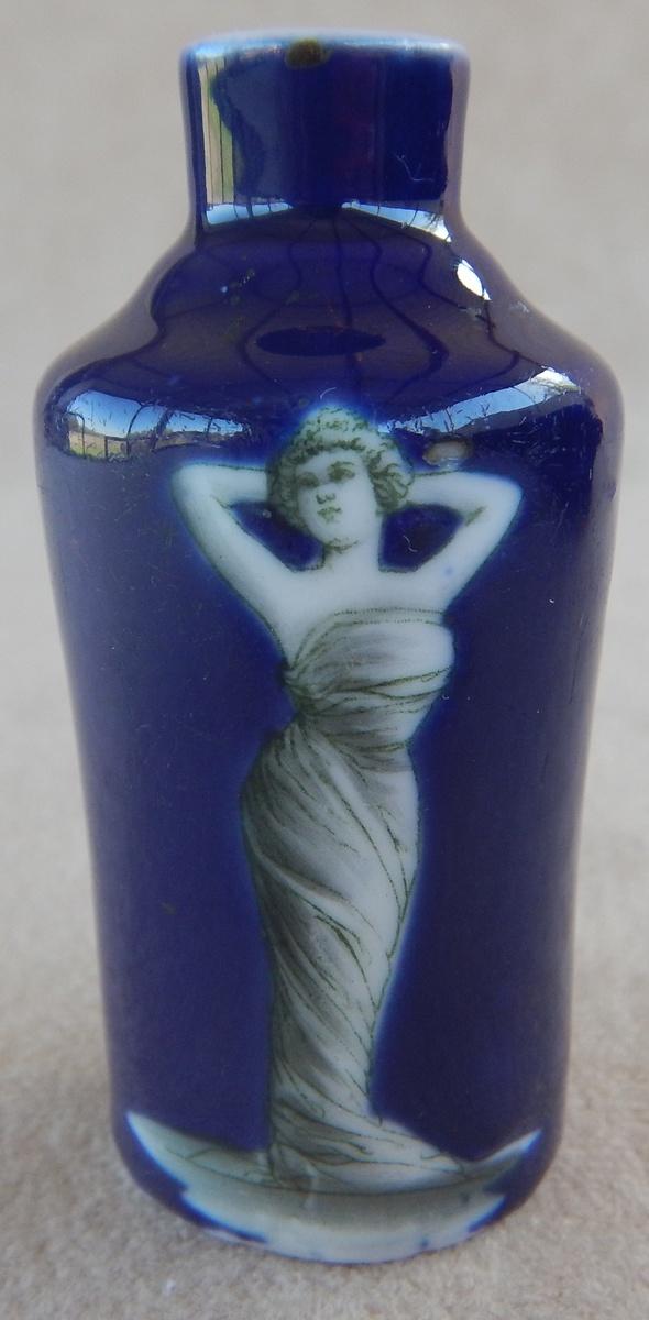 Antique Fedora Miniature Cobalt Blue Vase Collectors Weekly