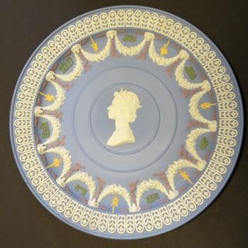 Wedgwood Jasperware 5 colour plate - China and Dinnerware