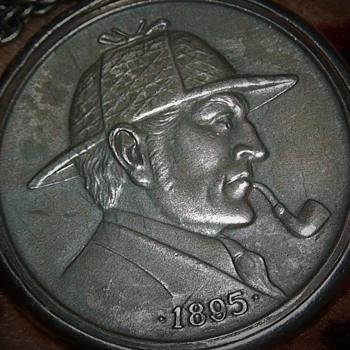 Sherlock Holmes Silver Medal 1971 The Scandalous Bohemians of New Jersey  - Advertising