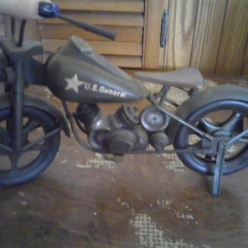 U.S general harley motor cycle toy - Model Cars