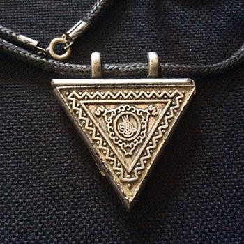 Old pendant - Costume Jewelry