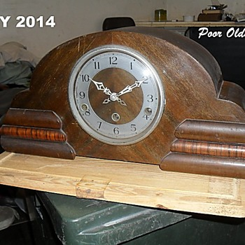 My recently restored Enfield Mantel Clock