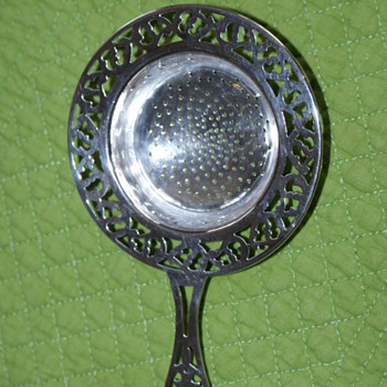 Sterling Silver Tea Strainer - Silver