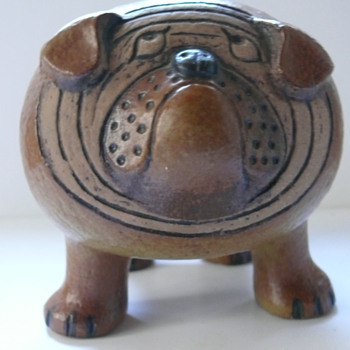 lisa larson bulldog - Pottery