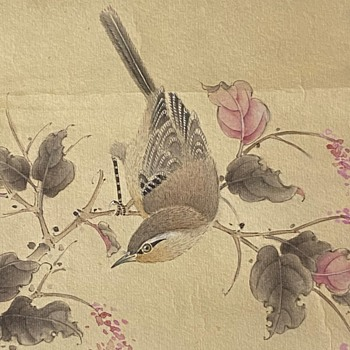 Chinese Painting I bartered for today - Asian