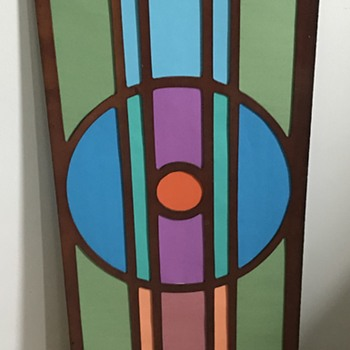 Art Deco window. - Art Glass