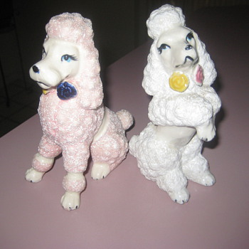 Ceramic poodles - Animals