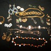Estate Sale Treasure Vintage Jewelry 1940's Trifari Sterling Damascene