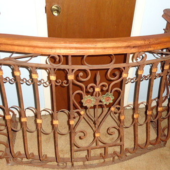 New to Me Wrought Iron Balcony  - Tools and Hardware
