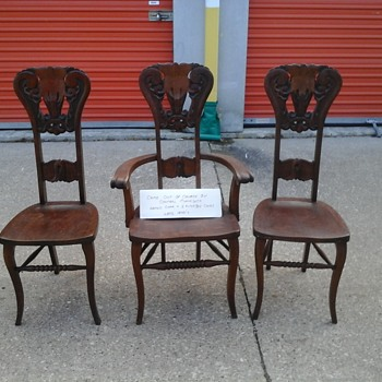 3 alter boy chairs