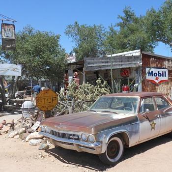 Hackberry Genral Store Route 66 AZ - Petroliana