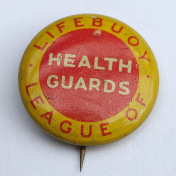 Lifebouy League of Health Guards Pin - Advertising