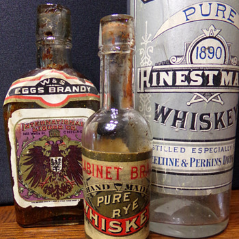Pre-Pro Whiskey; $1!!! Disaster Strikes!!!! - Bottles