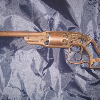 1856 savage navy revolver - Military and Wartime