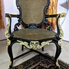 My favorite Ebony and ivory chair- One of its kind