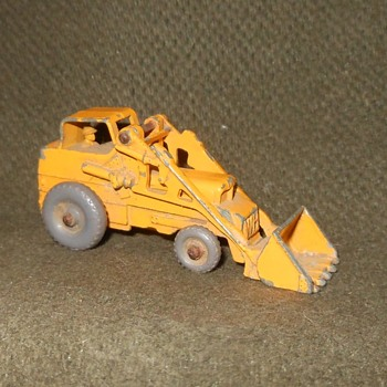 Mighty Metal Matchbox Monday MB-24B Weatherill Hydraulic Excavator 1959-1961  - Model Cars
