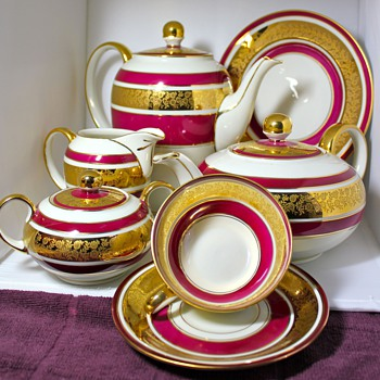 Eschenbach Tea & Cookies Set - China and Dinnerware