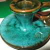 Pottery Candle Holder....