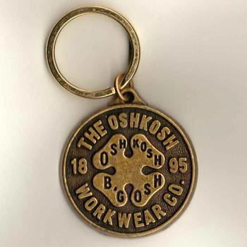 OshKosh Workwear Keyring Fob - Advertising