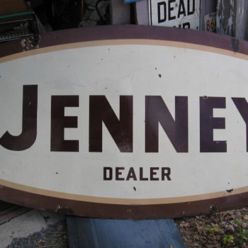 Jenney Gas Sign and others - Signs