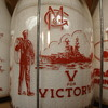 GENEVA MILK COMPANY...GENEVA NEW YORK WAR SLOGAN MILK BOTTLE