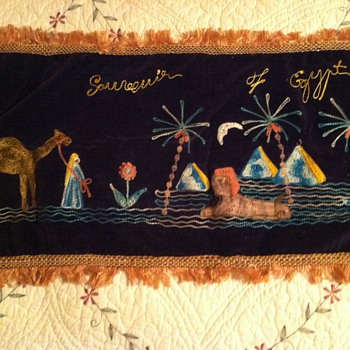 Souvenier of Egypt 1942 - Rugs and Textiles