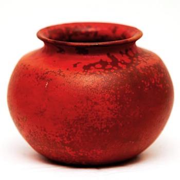 Uranium Glaze Vase, H.H.C. Kähler (Denmark), 1900-1920 - Pottery