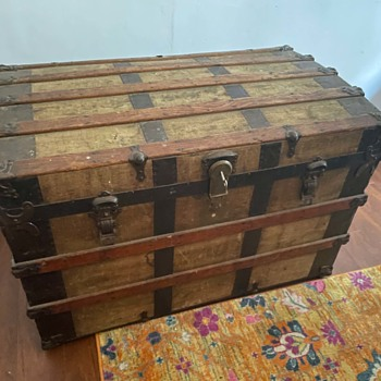 Antique Steamer Trunk (Australia) - Furniture