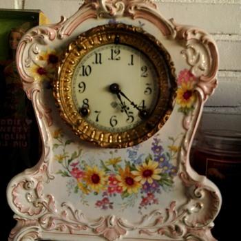 Antique clock we have since Grandmoms passing..... - Clocks