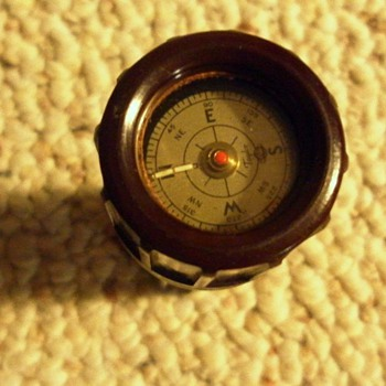 U.S. Military Compass and Match box