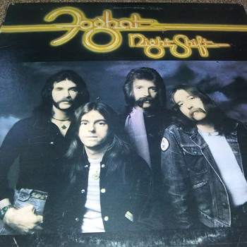 Foghat...On 33 1/3 RPM Vinyl - Records