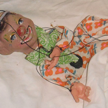 Toy old puppet
