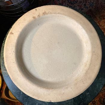 Rustic Stoneware Plate - China and Dinnerware